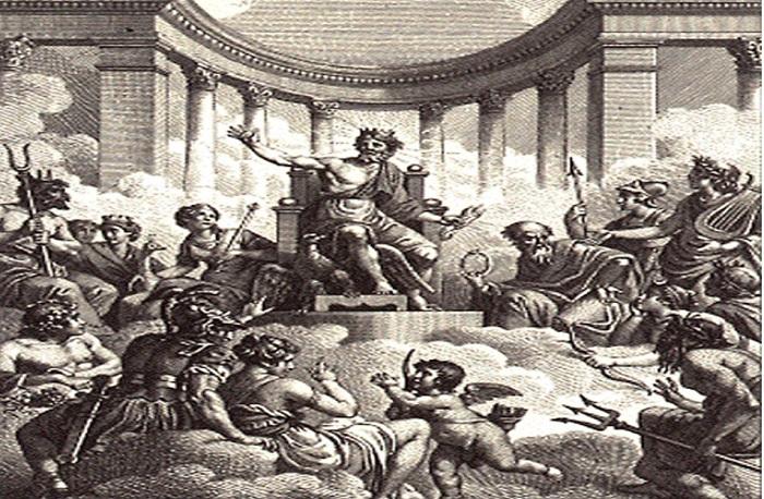 como empezo el concilio de los doce dioses de roma