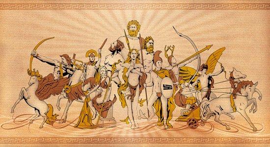 la mito logia romana