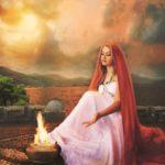 Vesta, diosa virgen de la familia, el hogar y el hogar
