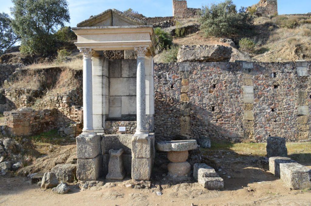donde esta el templo de mercurio en roma
